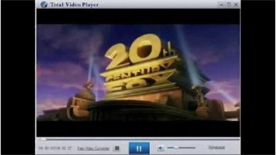 Screenshot total video player