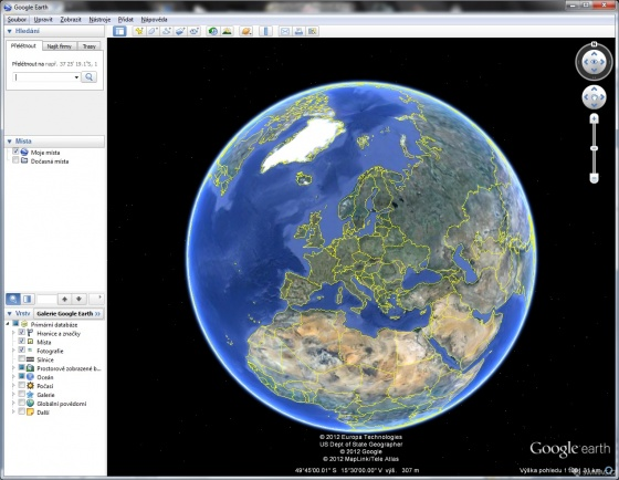 Screenshot google earth