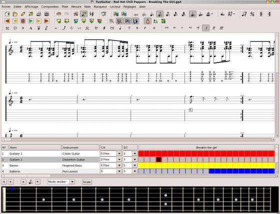 Screenshot tuxguitar