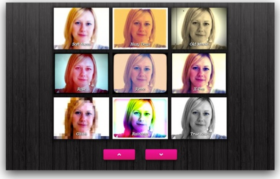 Screenshot webcam toy