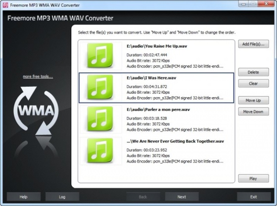 Screenshot free wma to mp3 converter