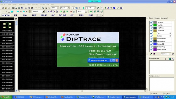Screenshot diptrace free