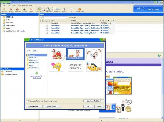 Screenshot incredimail
