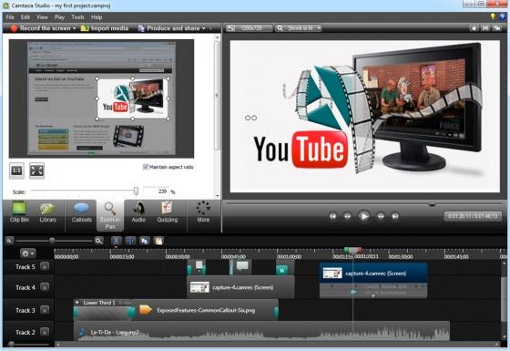 Screenshot camtasia studio