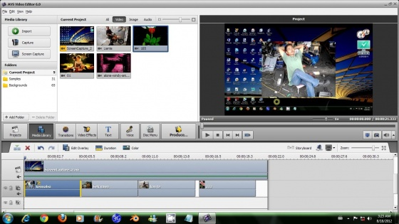 Screenshot avs video converter