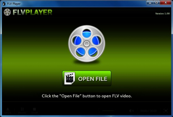 Screenshot flv player