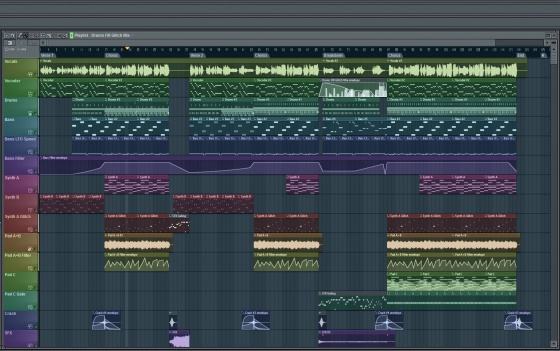 Screenshot fl studio