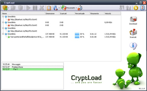 Screenshot cryptload