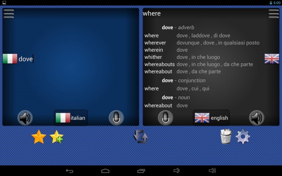 Screenshot free language translator