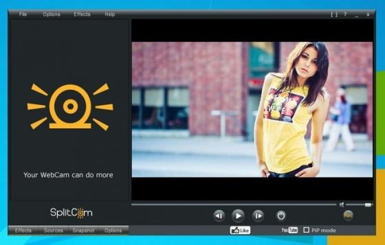 Screenshot splitcam