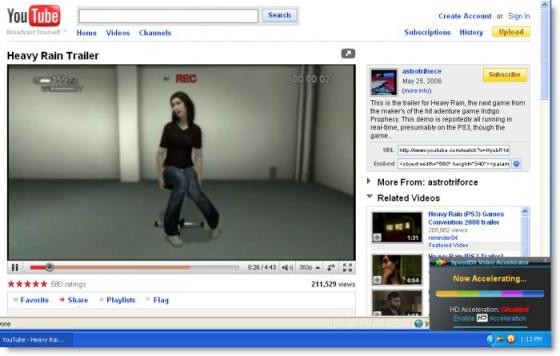 Screenshot speedbit video accelerator