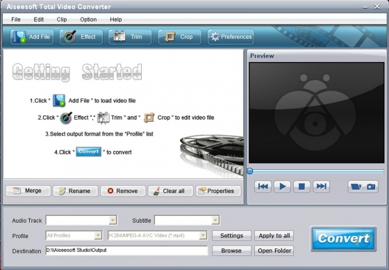 Screenshot movie converter