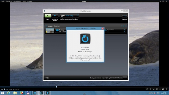 Screenshot divx plus